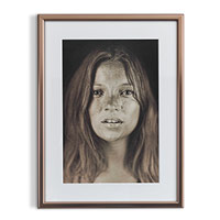 Upload your picture and create a Portrait Framed Print